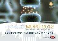 MDPD 2012, Berlin - Kenes