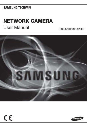 Samsung iPOLiS SNP-5200 User Manual - Use-IP