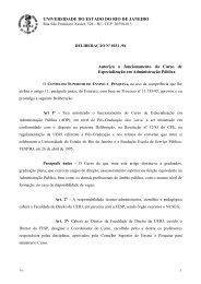 UNIVERSIDADE DO ESTADO DO RIO DE JANEIRO Autoriza o ...