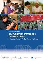 communication stratégique en matière d'apa - ABS Capacity ...