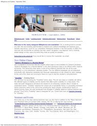 September 2004 - The Options Industry Council