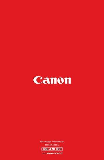 Descarga Guía de Productos y Soluciones para la ... - Canon Chile
