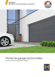 Portes de garage sectionnelles - Hormann.fr