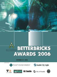 October 27, 2006 - BetterBricks