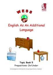 Prepositions workbook - Wigan Schools Online