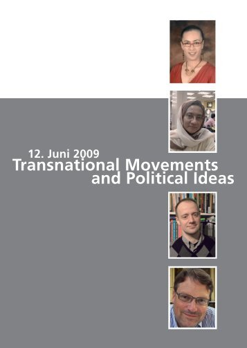 Transnational Movements and Political Ideas - Transnationale ...