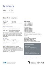 Dates, facts and prices - Danish Design Association