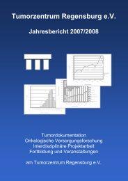 Tumorzentrum Regensburg e.V. Jahresbericht 2008
