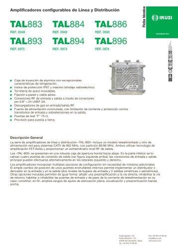 TAL883 TAL884 TAL886 TAL893 TAL894 TAL896