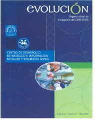 Volumen 1 Número 1 Año 2005 - CENDEISSS