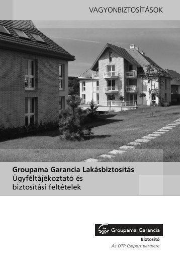 Groupama Garancia Biztosító lakásbiztositás feltételei - OkOk.hu