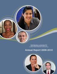 Annual Report 2009-2010 - Graduate School of Education and ...