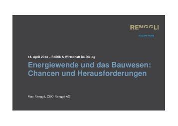 Energiewende und das Bauwesen: Chancen und Herausforderungen