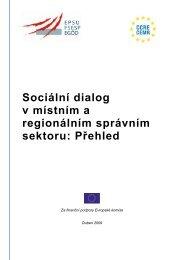 Širší sociální dialog - Council of European Municipalities and Regions