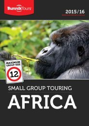 SmAll Group TourinG - Services Home