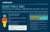 SECURITY PROS & 'CONS': - Websense