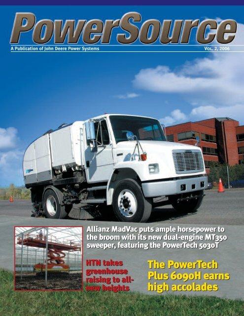 A Publication of John Deere Power Systems - John Deere Industrial ...