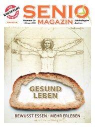 Gesund Leben - Senio Magazin
