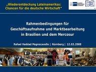 Präsentation Haddad Magnocavallo 120308 - IHK Nürnberg für ...