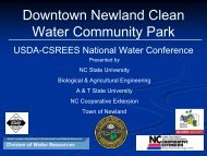 Downtown Newland Clean Water Community Park - National Water ...