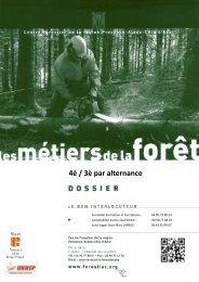 4È / 3È PAR ALTERNANCE - Le Centre Forestier de la région ...