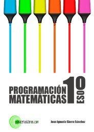 Programación didáctica de Matemáticas para 1º ESO Juan Ignacio ...