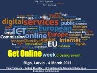 Get Onlineweekclosing event Riga, Latvia - 4 March 2011 - LIKTA
