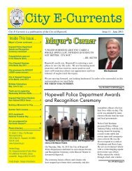 E-Currents 06-2013 - the City of Hopewell Virginia