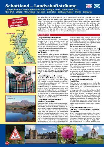 Schottland – Landschaftsträume