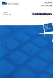 Terminations