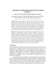 Detecção de Conglomerados Espaciais com Geometria Arbitrária