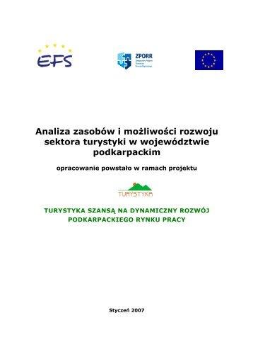 (Analiza zasobów i mo¿liwoœci rozwoju sektora turystyki w woj_26 ...