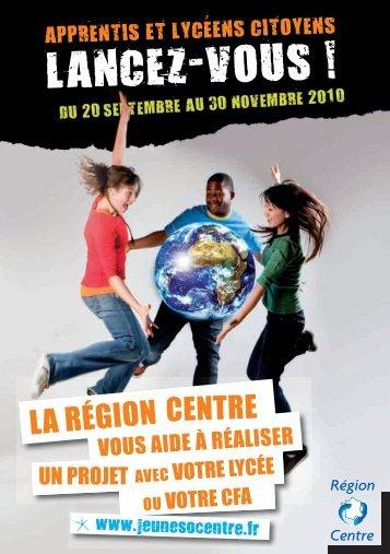 LANcEz-vouS ! - Région Centre