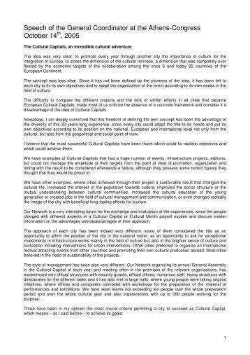 Speech of Rodolfo Maslias october 14th 2005.pdf - Documentation ...