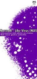 Norwalk - Like Virus (NLV) - NHS Greater Glasgow and Clyde