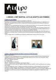 L'Aïkido et les femmes - Canalblog