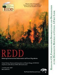 REDD in the Democratic Republic of Congo (PDF) - Woods Hole ...