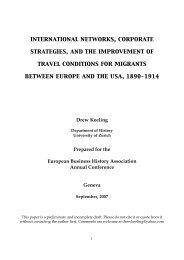 international networks, corporate strategies, and the improvement of ...