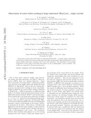 arXiv:cond-mat/0305593 v1 26 May 2003