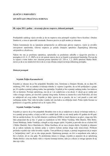 ZLOČIN U PODVOŽIĆU - Documenta