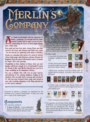 Merlin Co Rules EN DEF:Merlin Co Rules EN - Days of Wonder