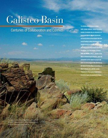 Galisteo Basin - El Palacio Magazine