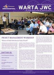 PROJECT MANAGEMENT WORKSHOP - binus university
