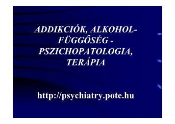 3,6 1,6 - Pszichiátriai és Pszichoterápiás Klinika