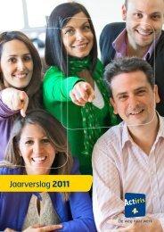 Jaarverslag 2011 - Actiris