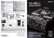 V-4EX Brochure - Roland