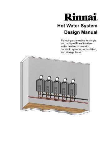 Hot Water Design Manual Rev D - Rinnai