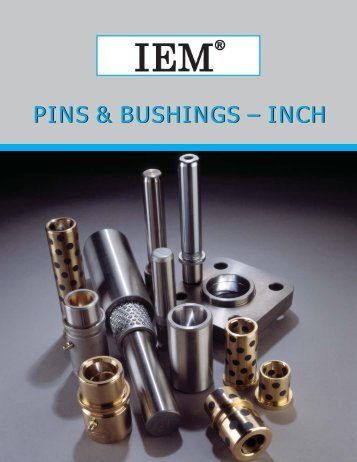 IEM Pins & Bushings - Inch - Anchor Danly