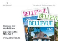 Discover the possibilities. Experience the BELLEVUE. www ...