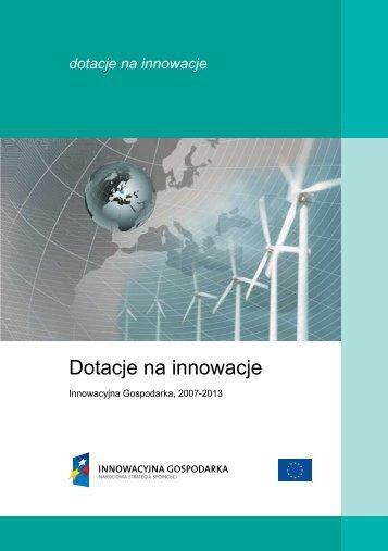 """""""Dotacje na innowacje"""" (wersja polska) - Fundusze strukturalne"""